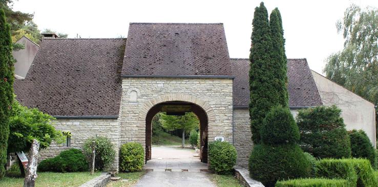 Caveau du Domaine de Montmain Villars Fontaine